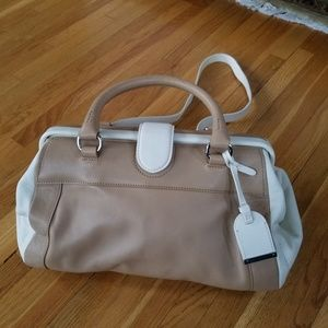 Cole Haan two tone bag